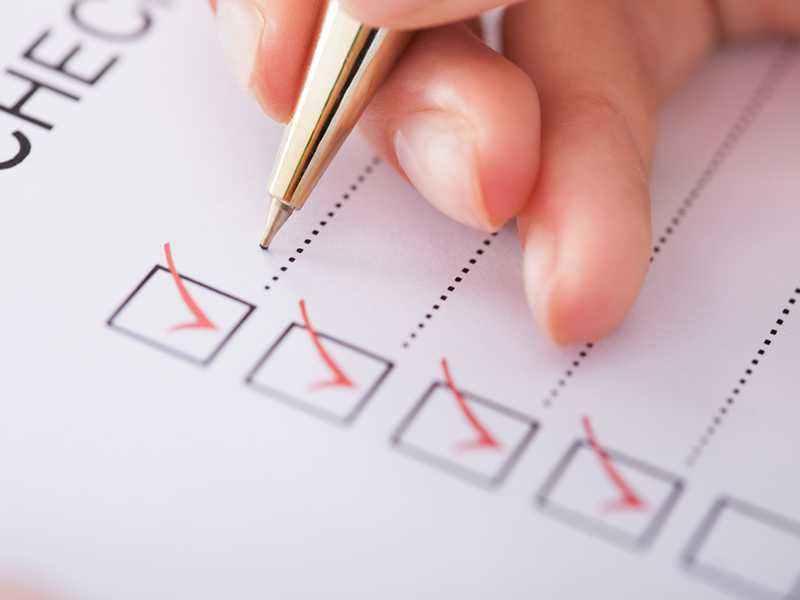 Checkliste für einen Kurantrag
